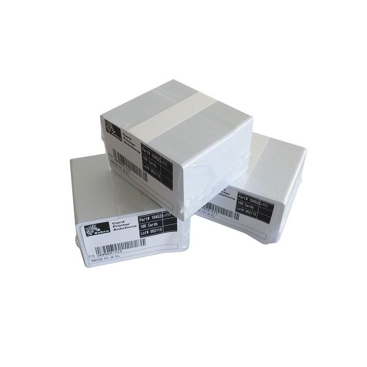 Karty Zebra 104523-111 - 100szt