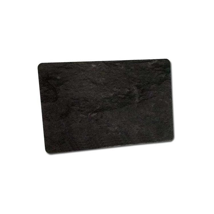 Karty czarne matowe marmurek 0,76 mm