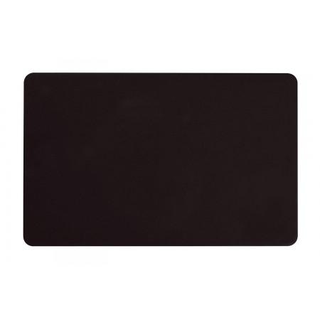 Karty plastikowe PVC czarne matowe 0,76mm
