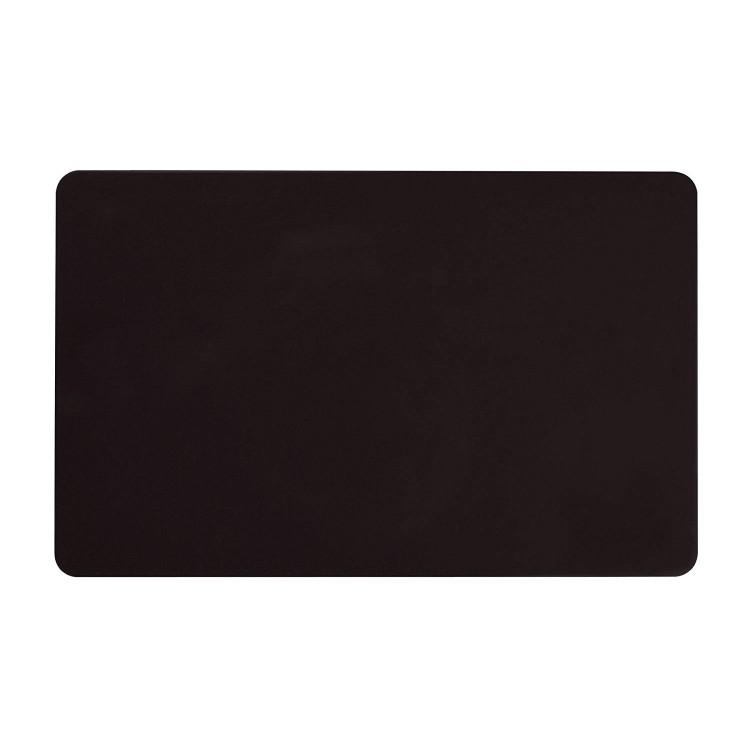 Karty plastikowe PVC czarne z połyskiem 0,76mm
