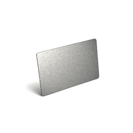 Karty plastikowe PVC srebrne