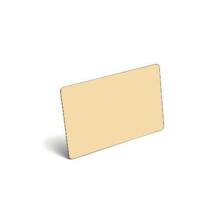 Karty plastikowe PVC kremowe